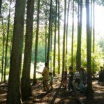 【山梨】親子で森を感じよう♫7/3(日)「皮むき間伐体験 森のおんがくや」@韮崎市