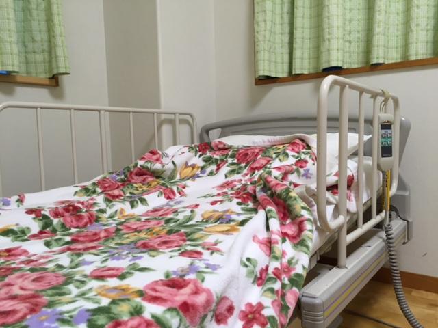 介護用ベッド。