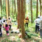 【山梨】7/30(日)親子でできる林業体験~森の歌会&皮むき体験@韮崎市