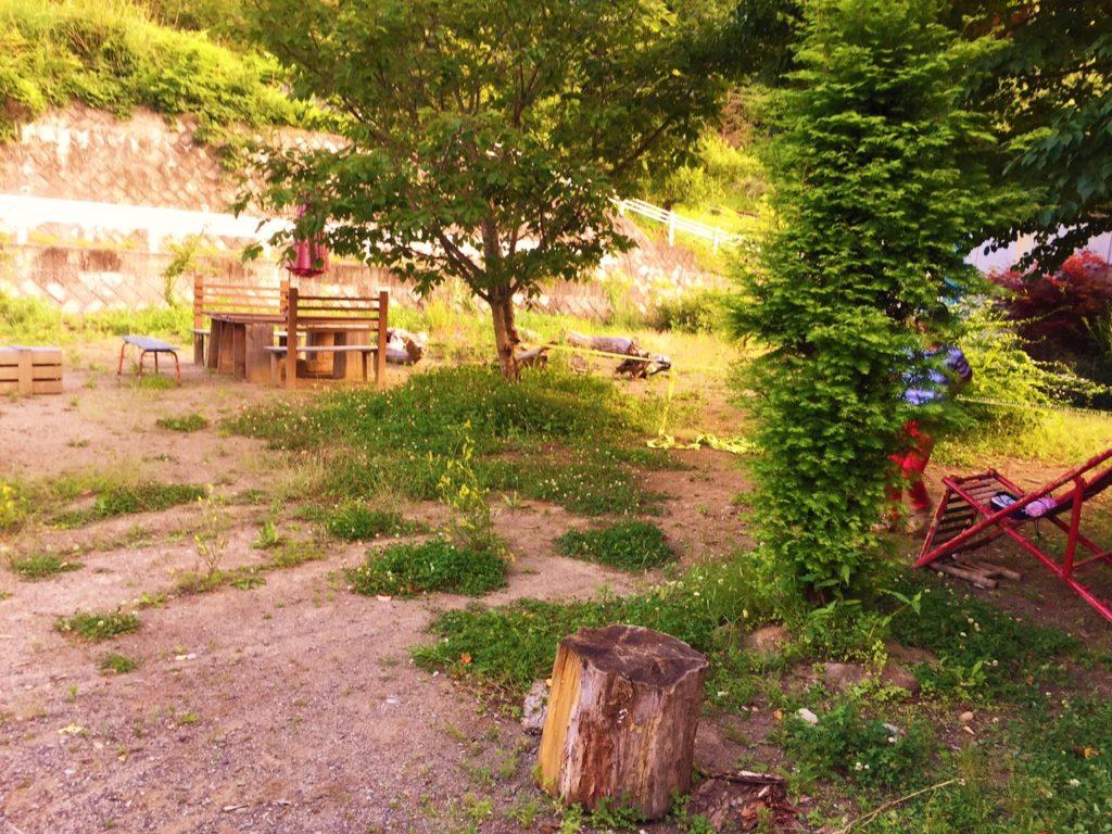 フィトンチッド庭。