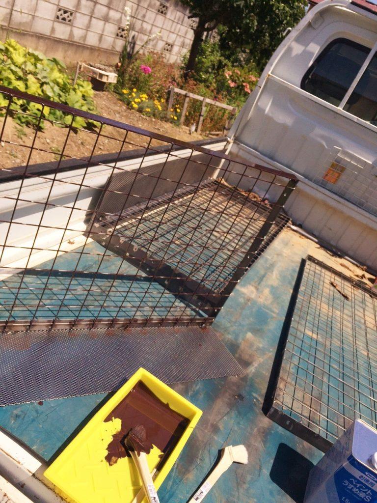 サルの囲い込み柵
