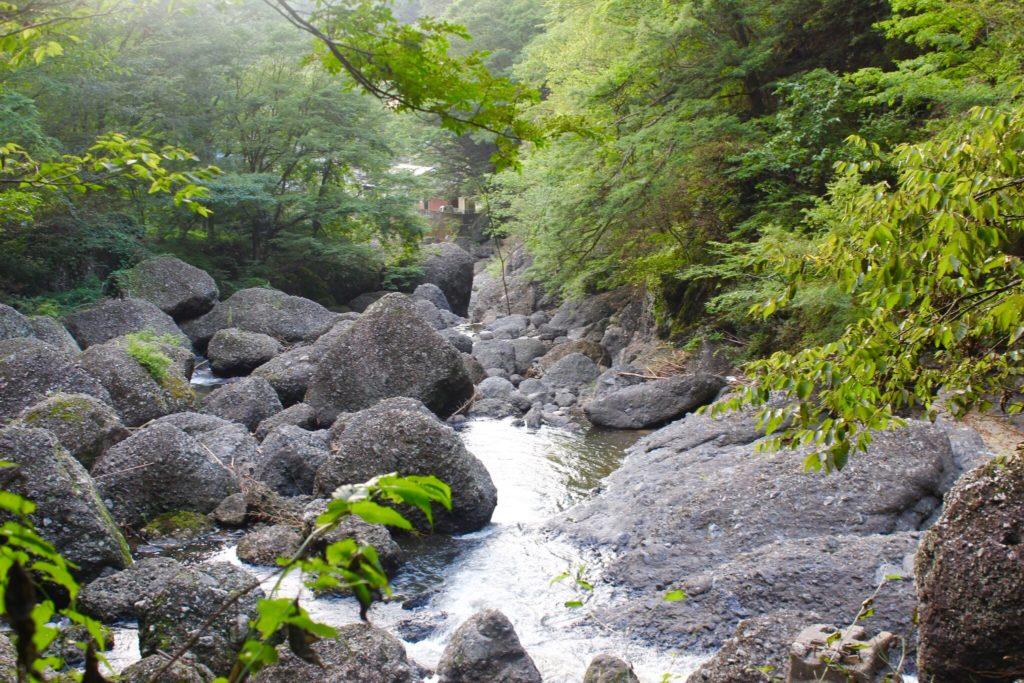 袋田の滝の岩石1
