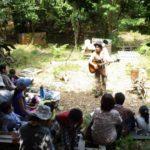きっと日本中にこんな森がある。8/11(木)レポート「皮むき間伐と森の歌会」