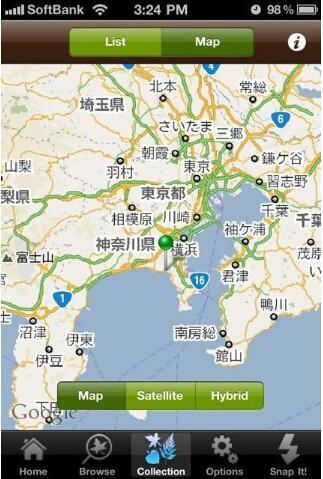 leafsnap地図画像
