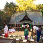 木山神宮例大祭。宗教も文化も越えて助け合うこと。10/17(月)森の旅135日目、熊本県上益城郡益城町