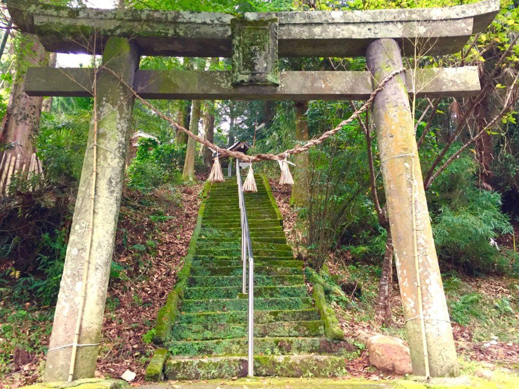 熊野神社の階段2