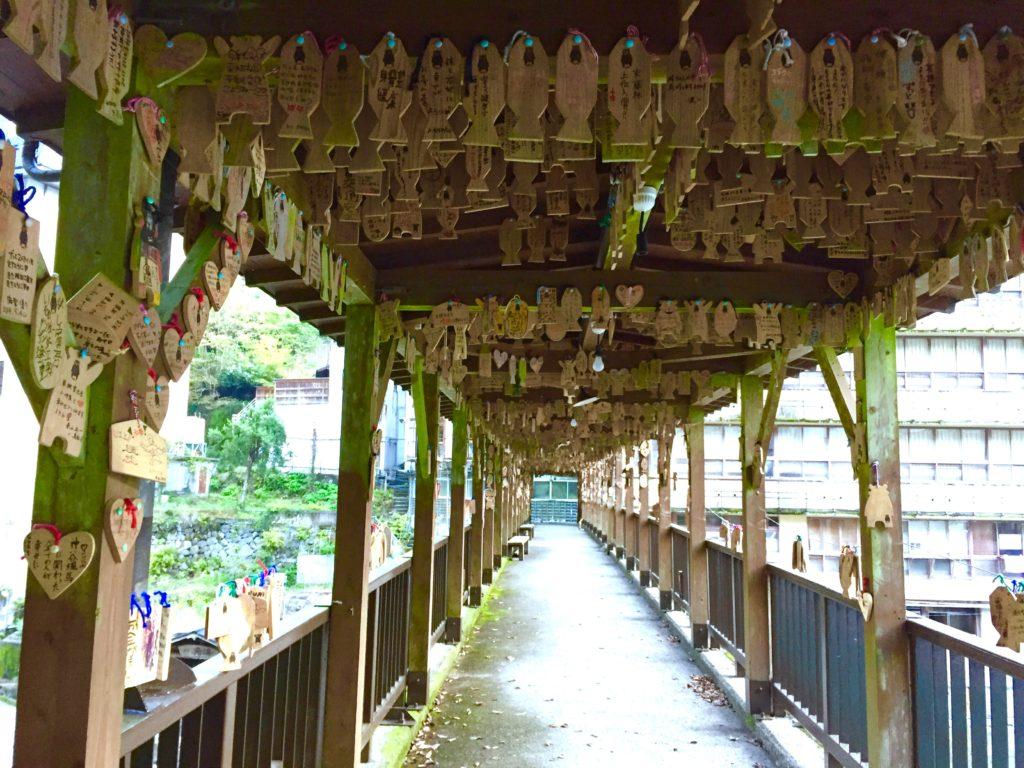 絵馬の橋。
