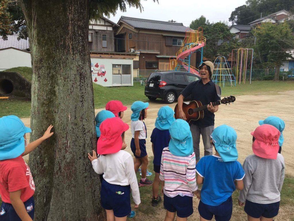 臼杵幼稚園にて1