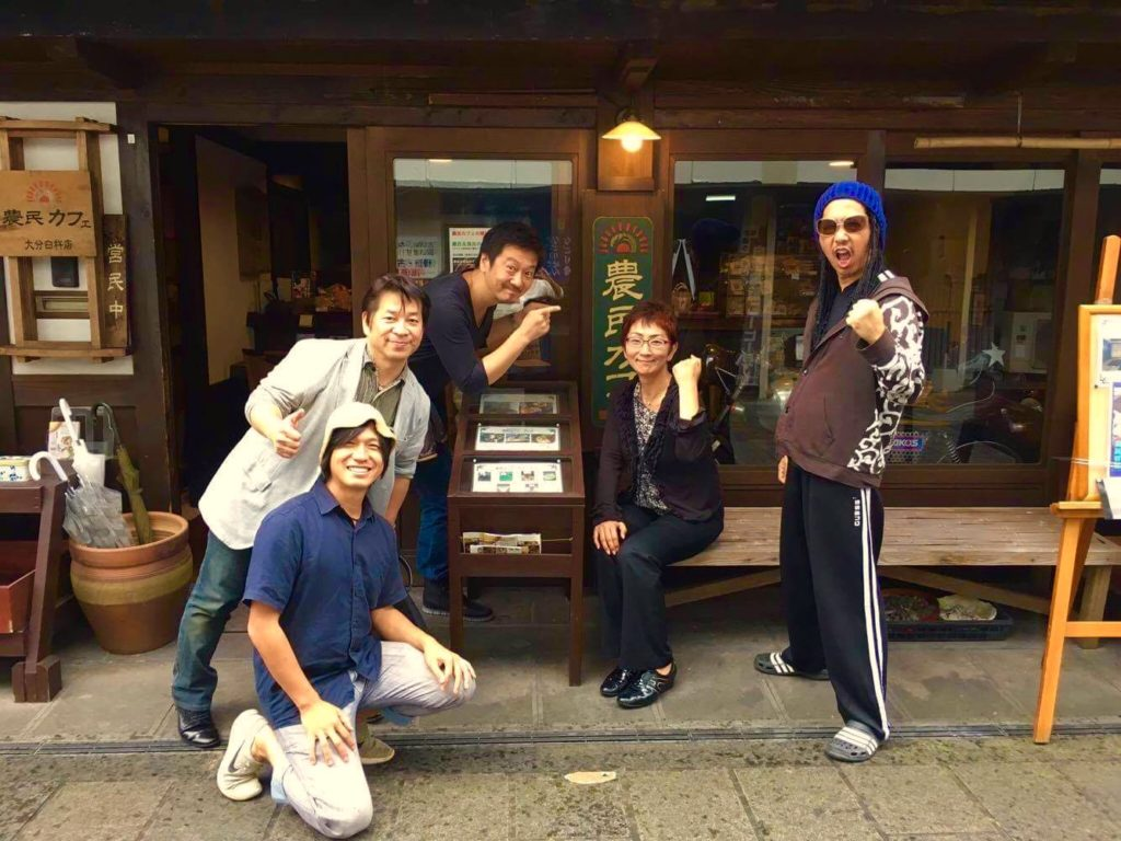 和気さん、梶原さん、藤原さん、奥田さんと。