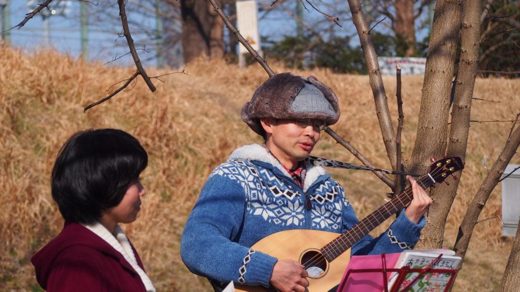 石川さんの演奏。
