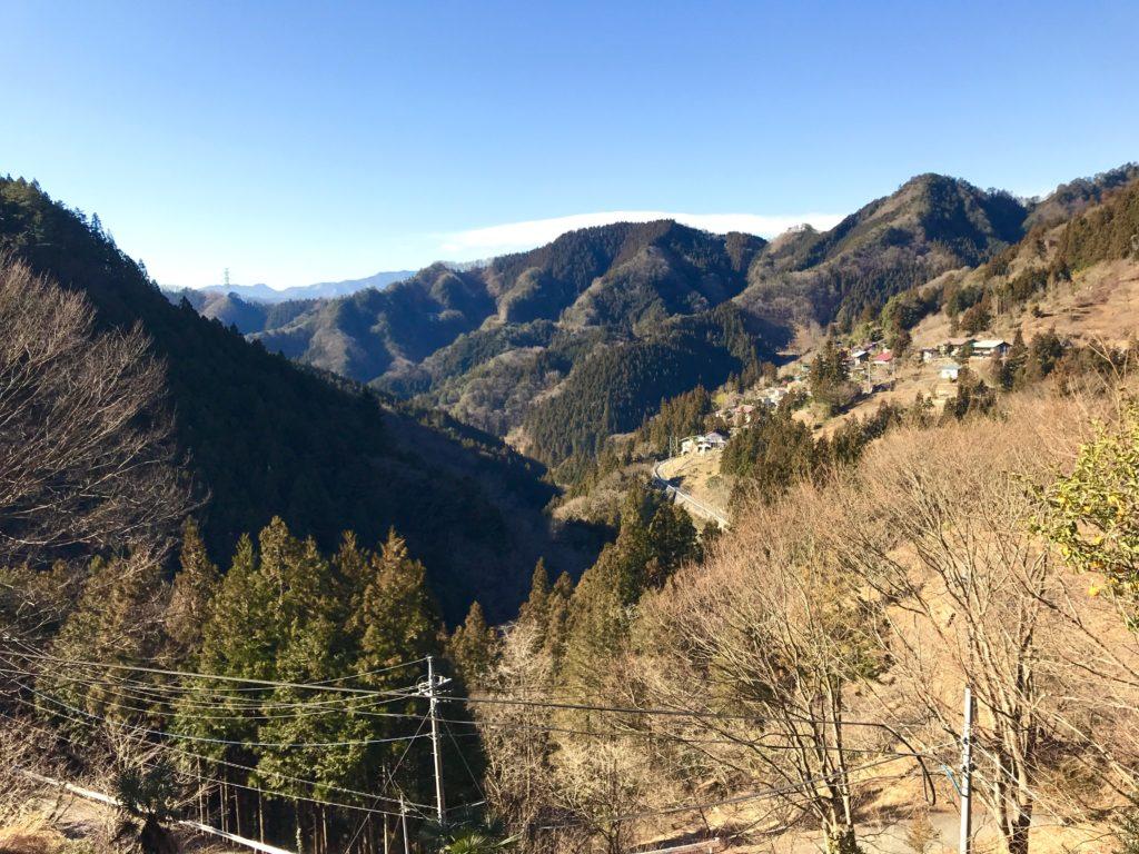 城峯の風景。