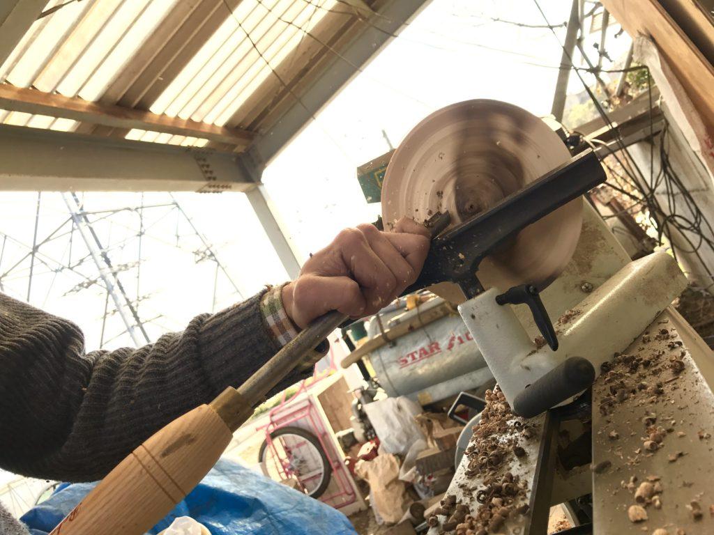 木工作業中2