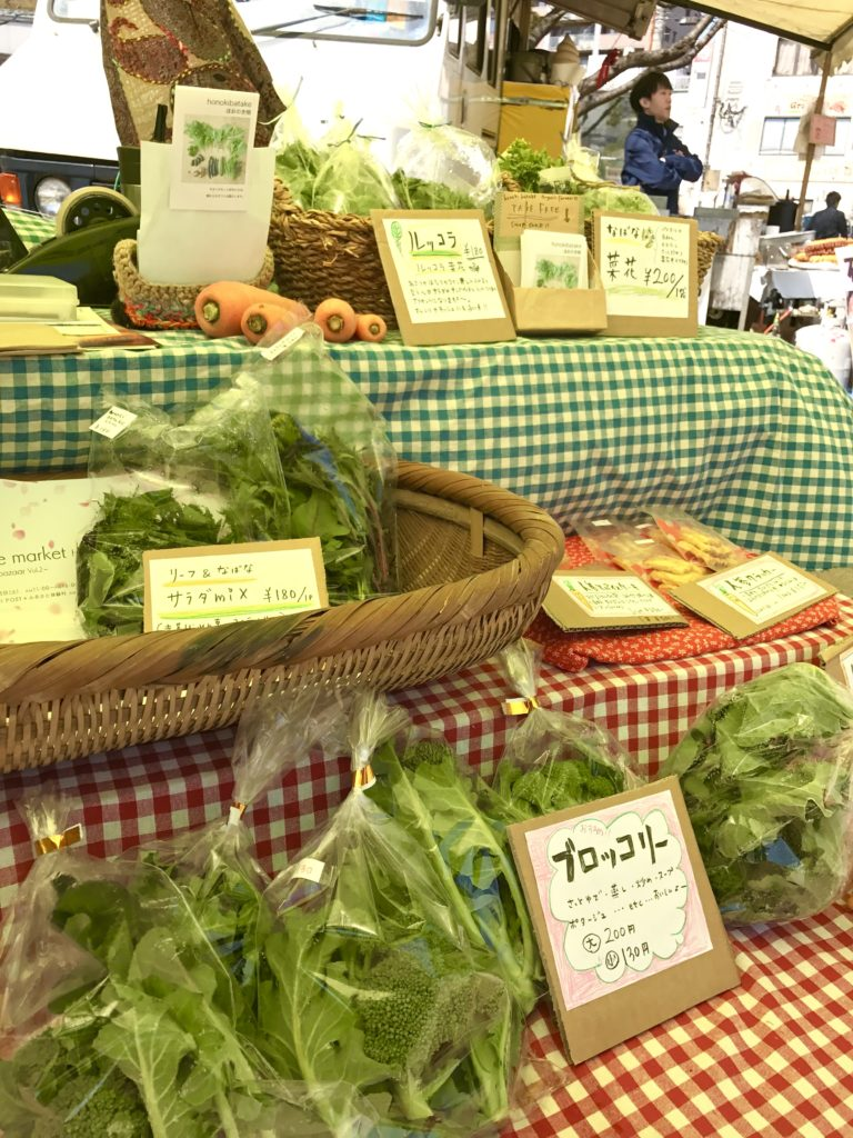 季節の野菜。