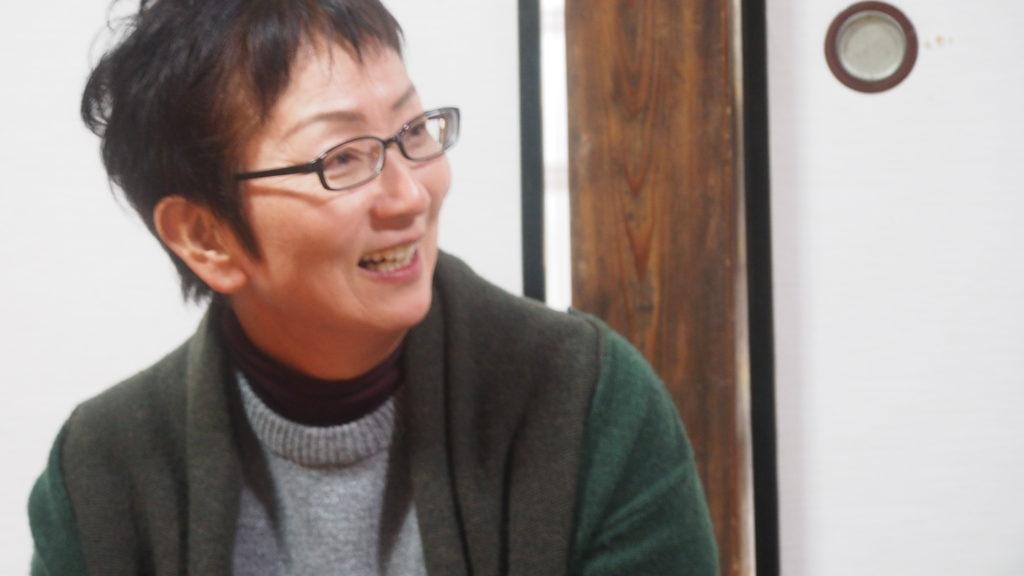 奥田富美子さん。