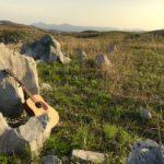 【演奏動画あり】カルスト台地で森の歌を。油谷青少年自然の家へ。キャンピングカーで森の旅314日目。