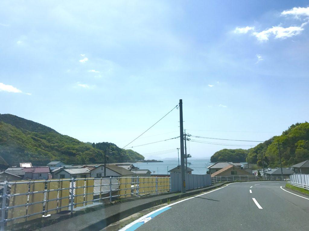 瀬戸内海。