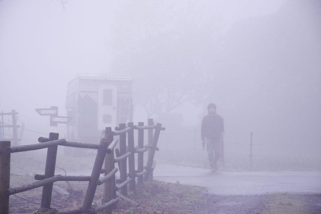霧の高原。