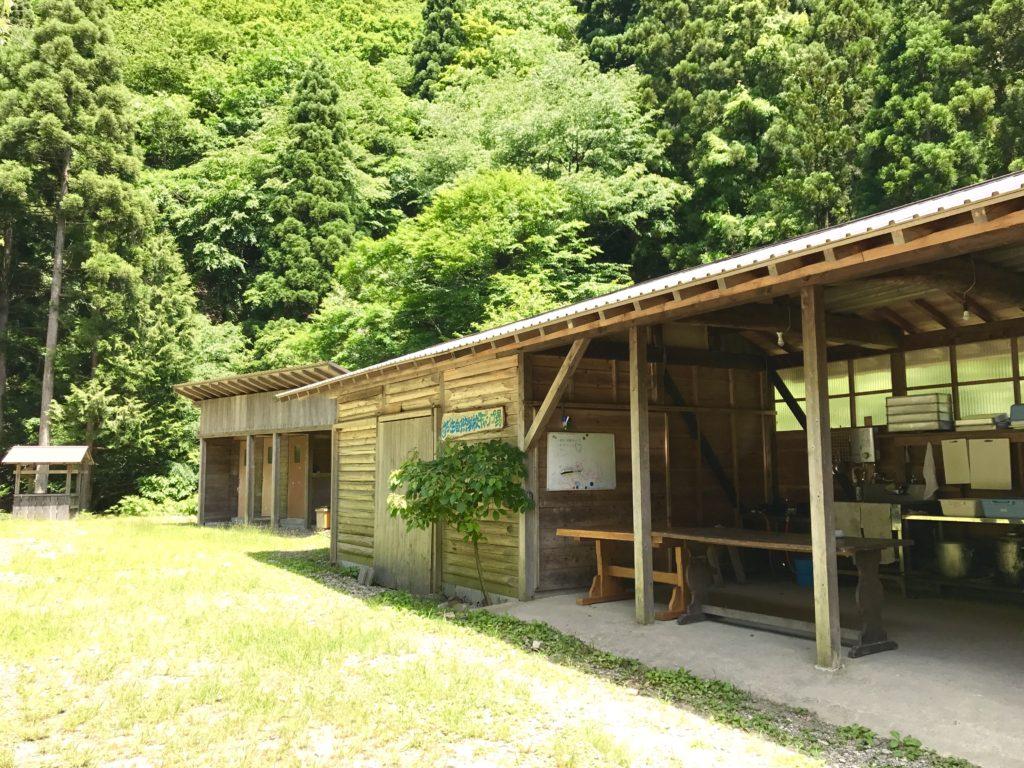 芦生自然学校キャンプ場2