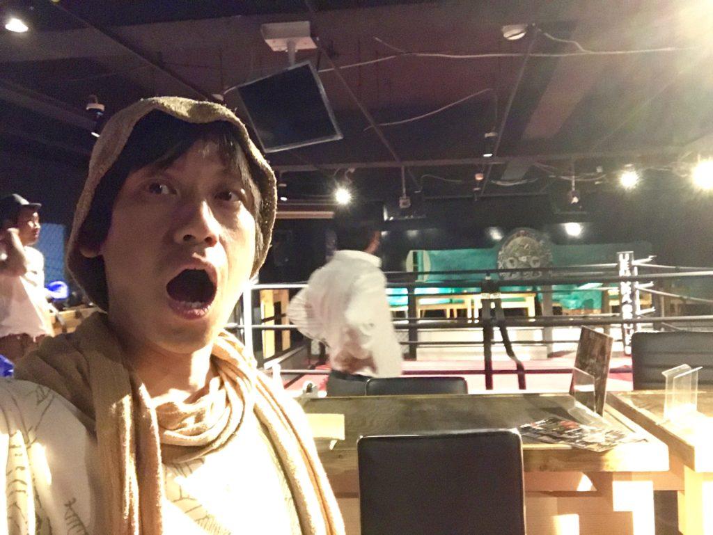 格闘技のリング!