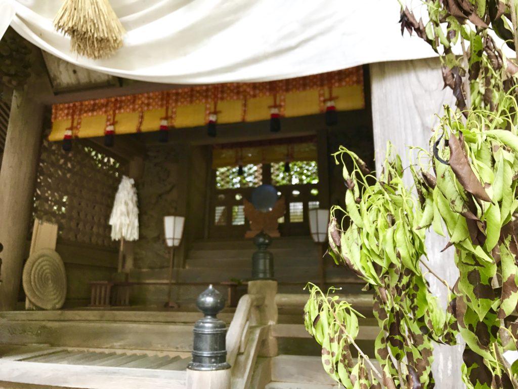 弥彦神社。