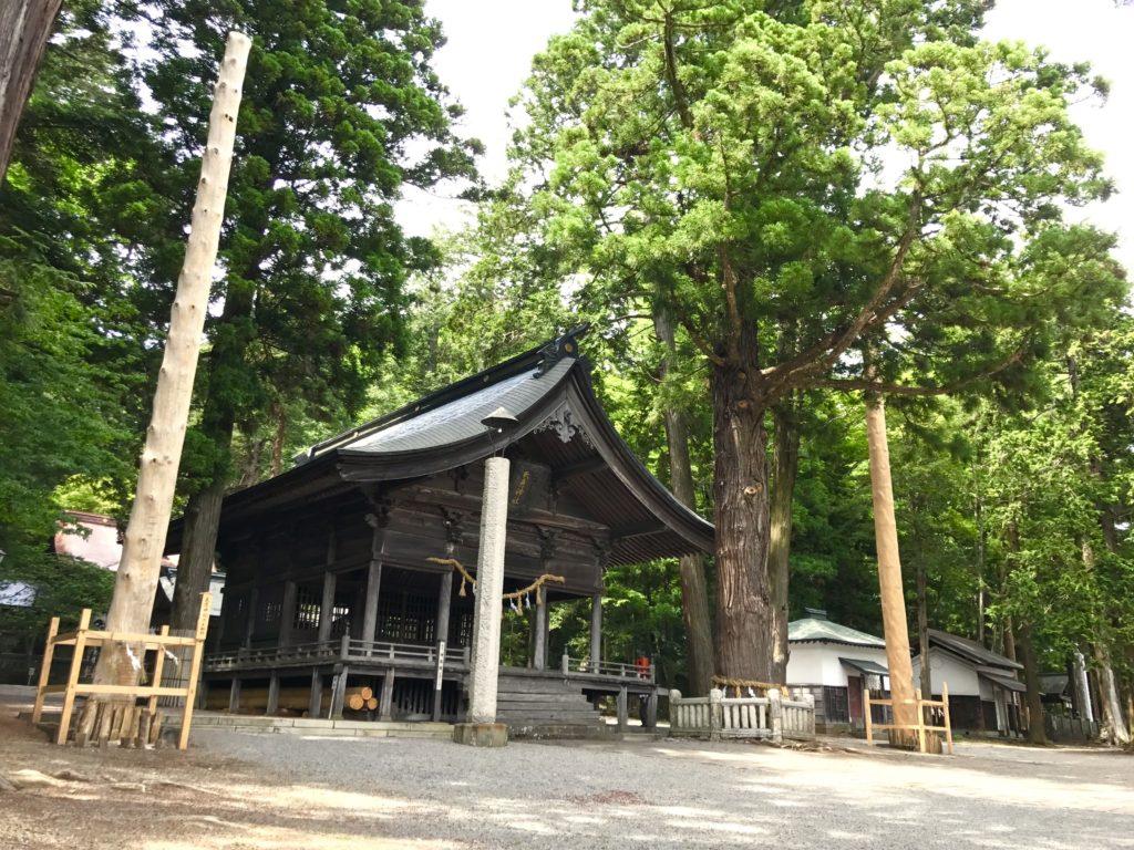 矢彦神社。