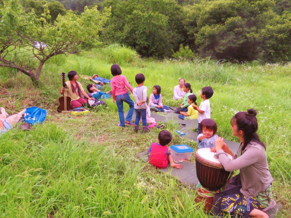 子ども達の歌。