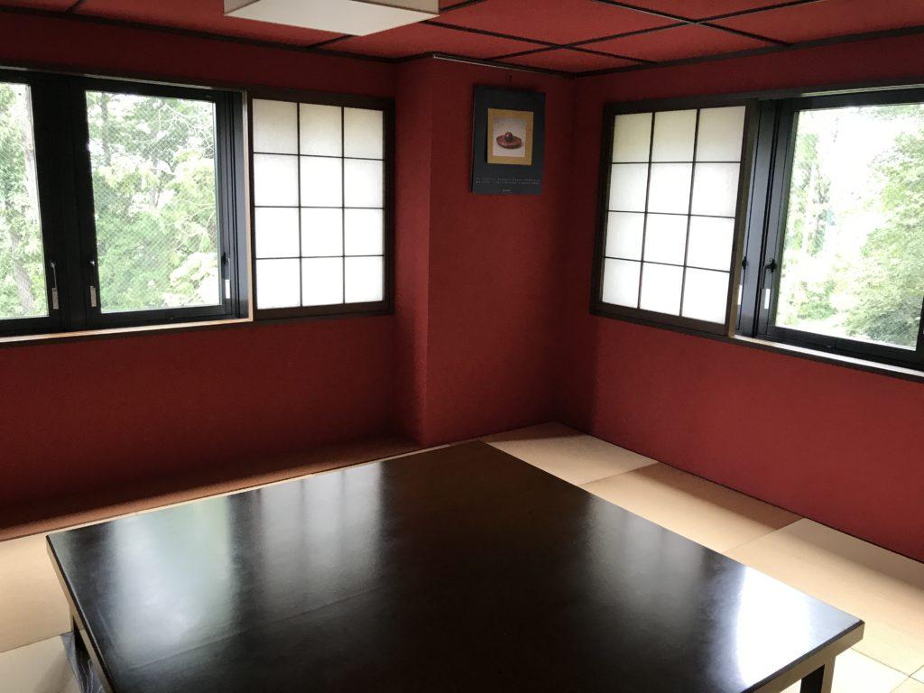 和風の会議室。