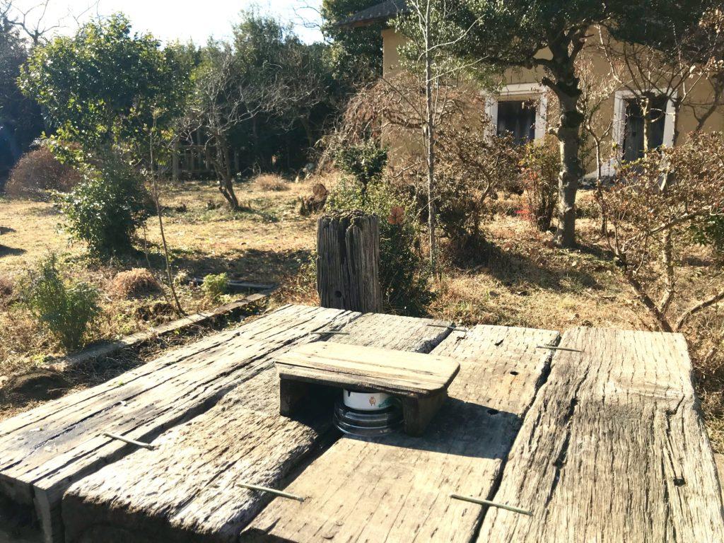 古民家お庭。