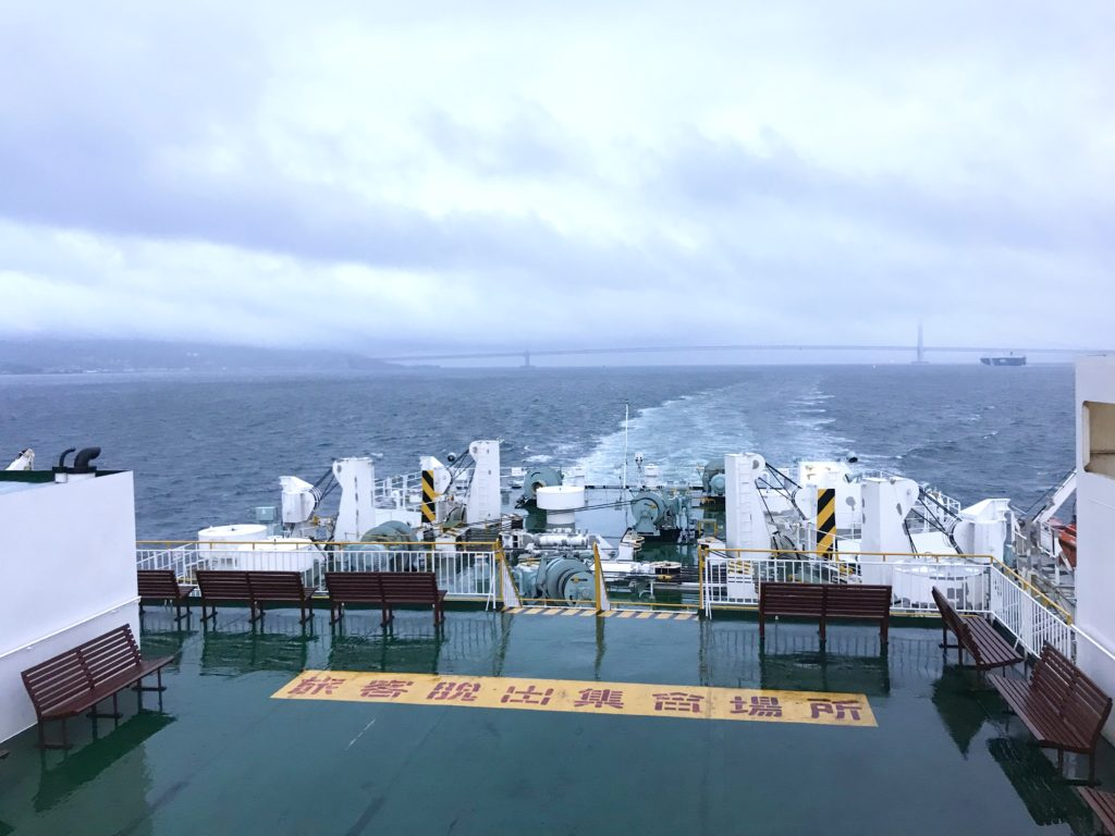 甲板から2