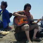 海と森と、太陽と月と、語り合う。レポート「ごろんコンサート@江の島」