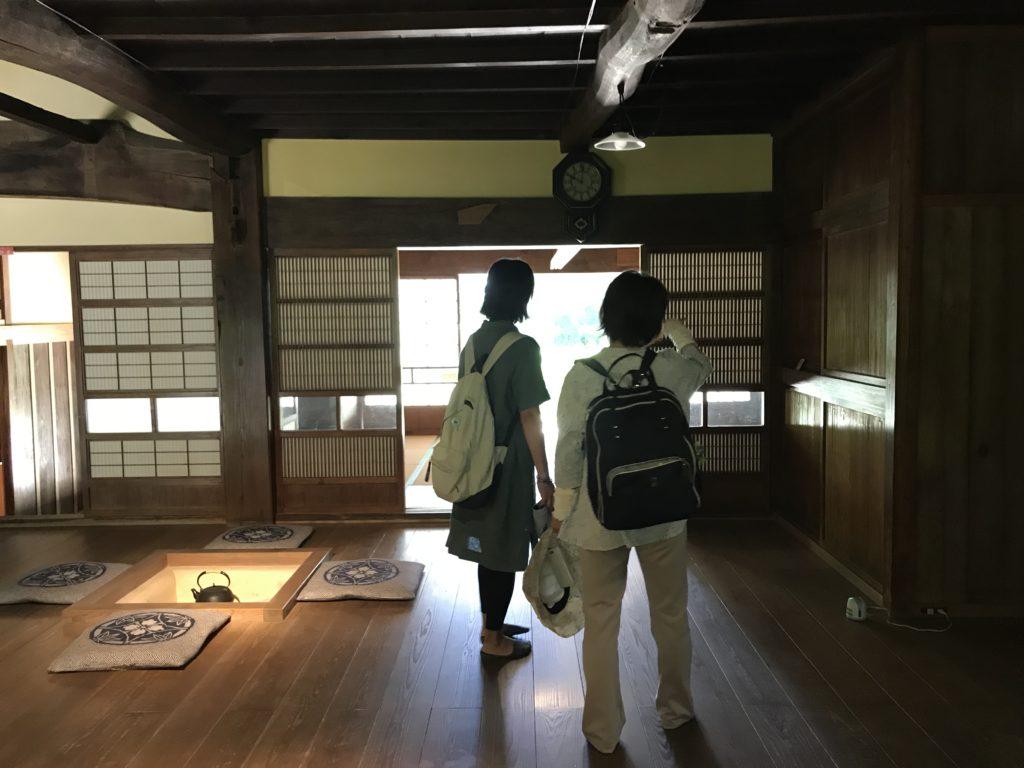 日本家屋。